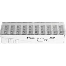 Аккумуляторный светильник Feron EL15 30 LED DC белый