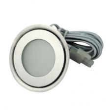 Светильник светодиодный встраиваемый в пол Flesi SC-B101A 58*H9mm, 0.42W, DC12V, IP54