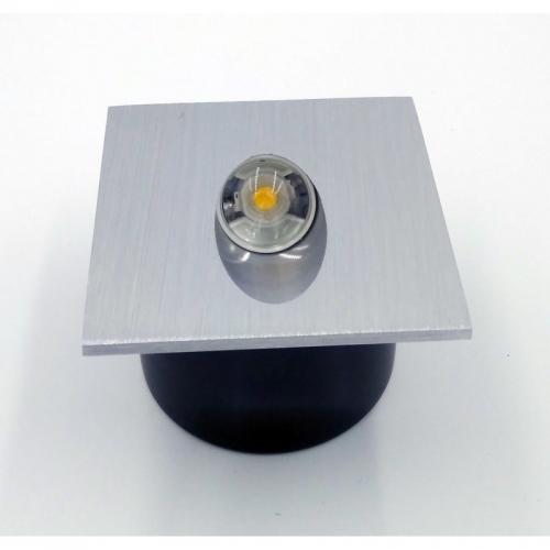 Подсветка светодиодная встраиваемая Светкомплект ST-8071 SQ 3W AL 4100K 3W 80*80мм IP44