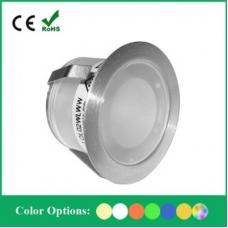 Светильник светодиодный встраиваемый в пол Flesi SC-B105B ф30*H18.5mm, 0.07W, DC12V, IP67