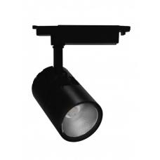 Светильник светодиодный трековый Feron AL103 20W 1800Лм 4000К черный (арт. 29648)
