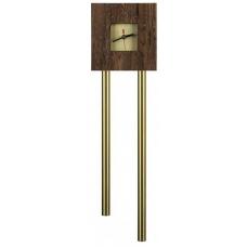 Звонок Zamel гонг трубный тик-так макс с накладкой Часы (дуб темный) GRS-941Т/М