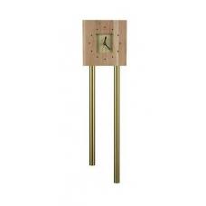 Звонок Zamel гонг трубный тик-так макс с накладкой Часы (дуб светлый) GRS-941Т/М