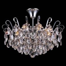 Люстра хрустальная Natali Kovaltseva HAPPY DIAMONDS I 11546/8C CHROME 8*E14 60W