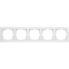 Рамка на 5 постов (слоновая кость) Werkel WL04-Frame-05-ivory