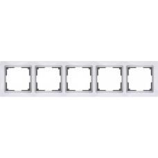 Рамка на 5 постов (белый) Werkel WL03-Frame-05-white