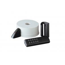 Пульт дистанционного управления для люстр с реверсивным вентилятором Vortice Telenordik, черный с белым