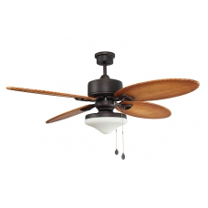 Люстра с вентилятором Faro Lombok 33019FAR коричневый