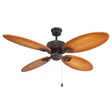 Потолочный вентилятор Faro Lombok 33019SFAR коричневый