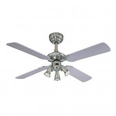 Люстра с вентилятором Westinghouse Princess Euro 78622WES хромированный глянцевый