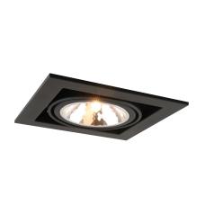 """Встраиваемый светильник """"кардан"""" Arte Lamp A5949PL-1BK черный"""