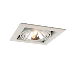 """Встраиваемый светильник """"кардан"""" Arte Lamp A5949PL-1WH белый"""