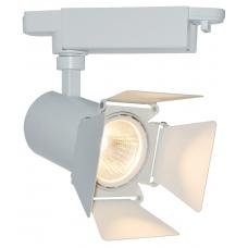 Трековый светодиодный светильник Arte Lamp A6709PL-1WH Track Lights