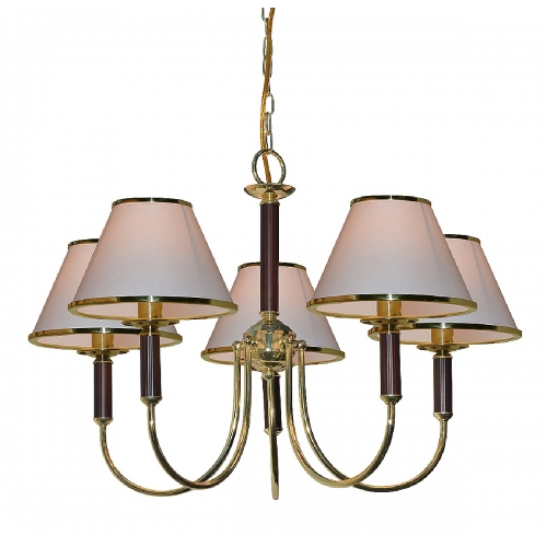 Подвесная люстра Arte Lamp A3545LM-5GO