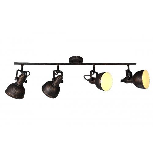 Спот Arte Lamp A5215PL-4BR