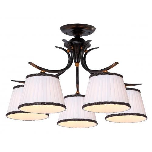 Потолочная люстра Arte Lamp A5133PL-5BR