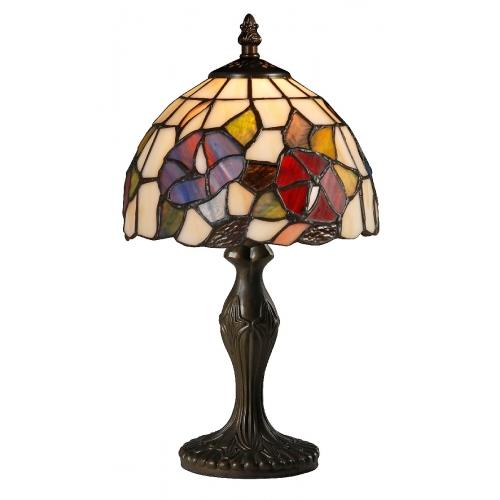 Настольная лампа в стиле Тиффани Arte Lamp A3165LT-1BG