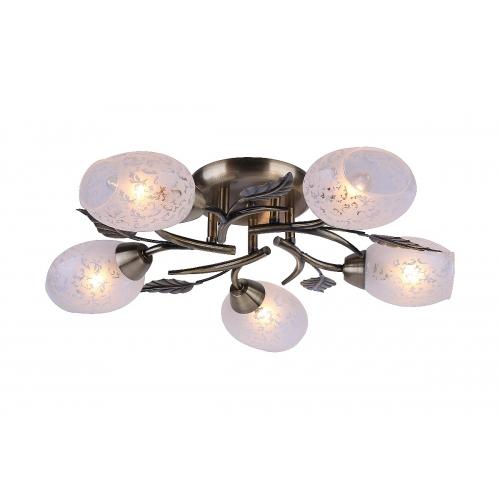 Потолочная люстра Arte Lamp A6157PL-5AB