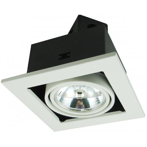 Встраиваемый светильник Arte Lamp A5930PL-1WH