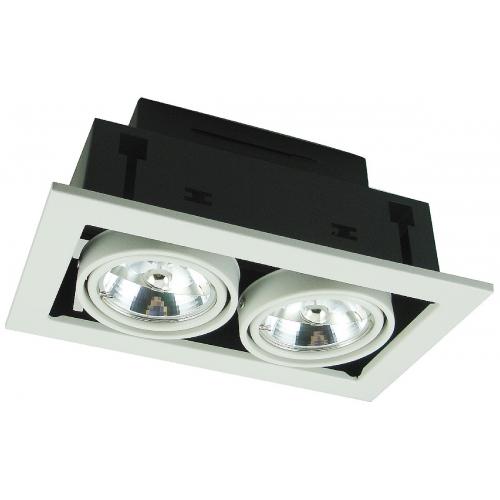 Встраиваемый светильник Arte Lamp A5930PL-2WH