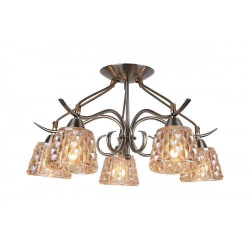 Потолочная люстра Arte Lamp A6185PL-5AB