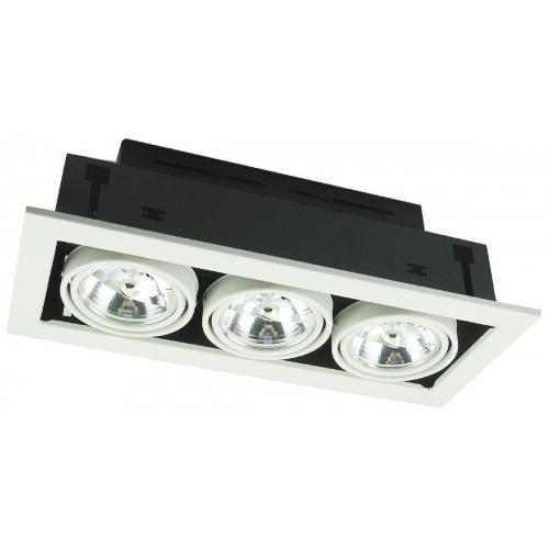 Встраиваемый светильник Arte Lamp A5930PL-3WH