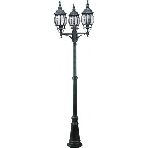 Фонарь уличный уличный Arte Lamp Atlanta A1047PA-3BG