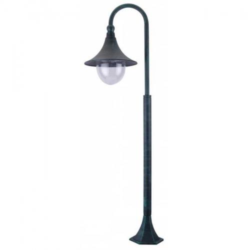 Фонарь уличный уличный Arte Lamp Malaga A1086PA-1BG