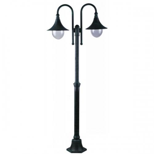 Фонарь уличный уличный Arte Lamp Malaga A1086PA-2BG