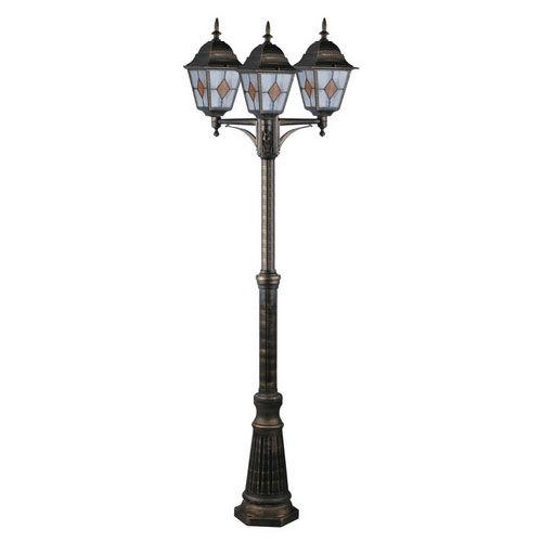 Фонарь уличный уличный Arte Lamp Berlin A1017PA-3BN