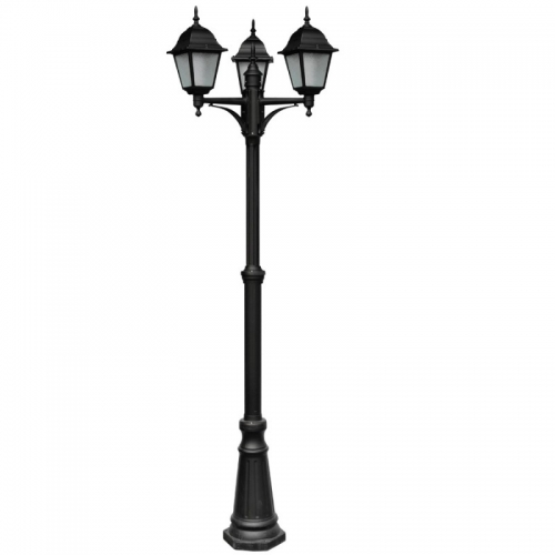 Фонарь уличный уличный Arte Lamp Bremen A1017PA-3BK