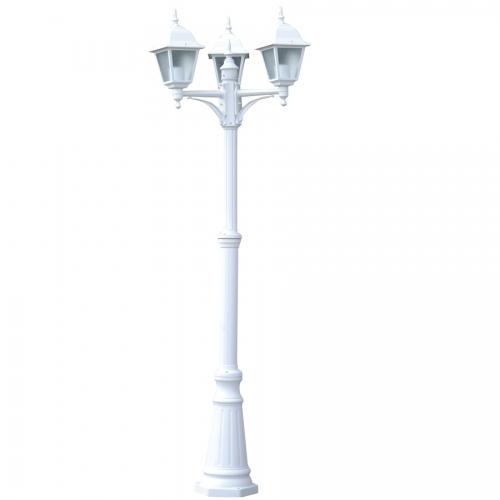 Фонарь уличный уличный Arte Lamp Bremen A1017PA-3WH