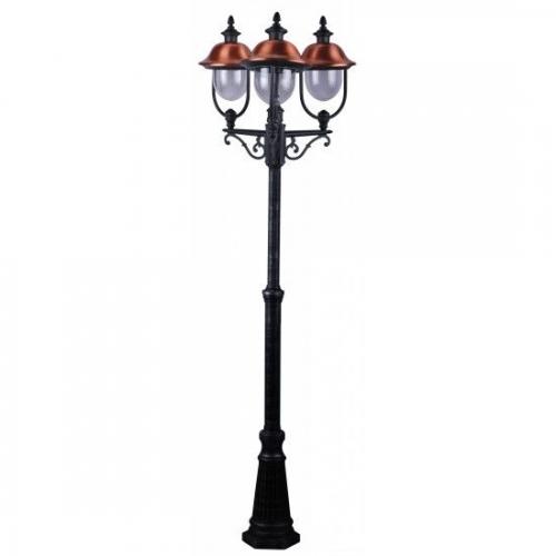 Фонарь уличный уличный Arte Lamp Barcelona A1486PA-3BK