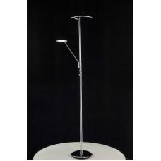 Торшер светодиодный с лампой для чтения Citilux CL802001 Дискус