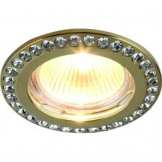 Точечный светильник Divinare 1405/01 PL-1 GIANETTA Золото