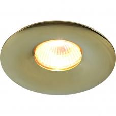 Встаиваемый точечный светильник Divinare 1765/01 PL-1 SCIUSCIÀ Золото