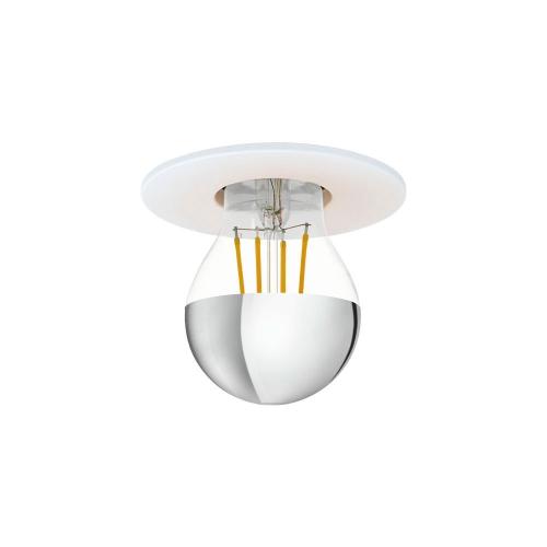 99062 Встраив. светильник SALUZZO, 1х40W (E27), ?90, H3, сталь, белый