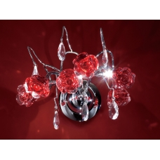 Бра хрустальное Eletto EL325W03.2 Rosa Rosso