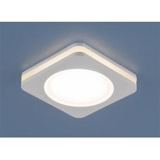 Встраиваемый светодиодный светильник Elektrostandard DSK80 5W LED белый