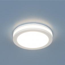 Встраиваемый светодиодный светильник Elektrostandard DSKR80 5W LED белый