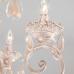 Классическая подвесная люстра 10009/6 золото с белым