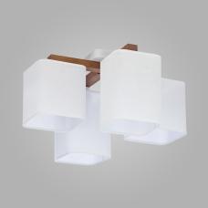 Потолочный светильник с абажурами 4163 Tora White