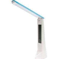 Настольная лампа светодиодная Feron DE1710 голубой (арт. 24192)