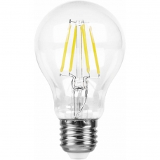 Лампа светодиодная Feron LB-63 9W 230V E27 2700K филамент A60 (арт. 25631)