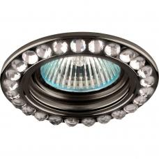 Точечный светильник Feron DL111-C MR16 50W G5.3 прозрачный, черный (арт. 28403)
