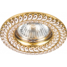 Точечный светильник Feron DL6034 MR16 50W G5.3 золото (арт. 28953)