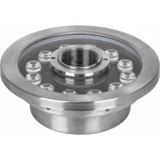 Светодиодный прожектор подводный Feron LL-891, D190*H75мм, IP68 12W 6400K (арт. 32170)