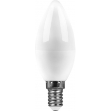 Лампа светодиодная Saffit SBC3707 7W 2700K 230V E14 C37 (арт. 55030)