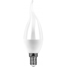 Лампа светодиодная Saffit SBC3707 7W 4000K 230V E14 C37T (арт. 55055)