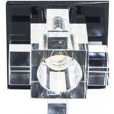 Светильник точечный светодиодный Feron 1525 10W 230V/50Hz 600 Lm прозрачный, черный 27815